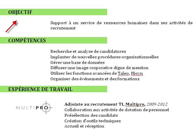 l u0026 39  u0152il du recruteur