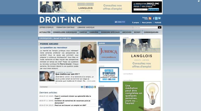 Me Pierre Arcand - Droit Inc.