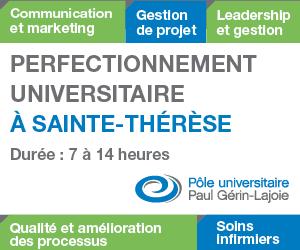 Formation universitaire à Sainte-Thérèse