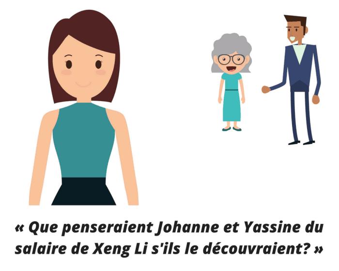 Mais que vont penser Johanne et Yassine?