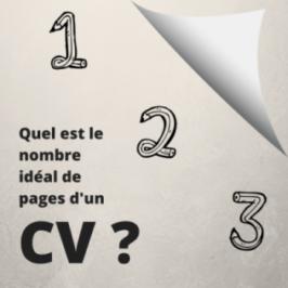 Combien de pages pour un CV?