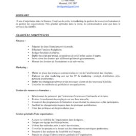Le CV par compétences, un fléau à enrayer!