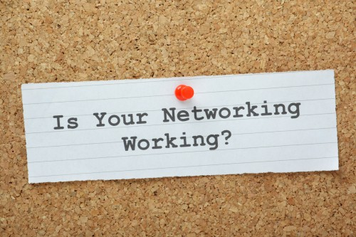 Is Your Networking Working question on a notice board