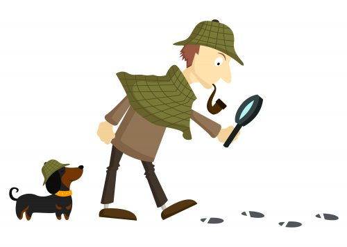 Detective-Plain Backround