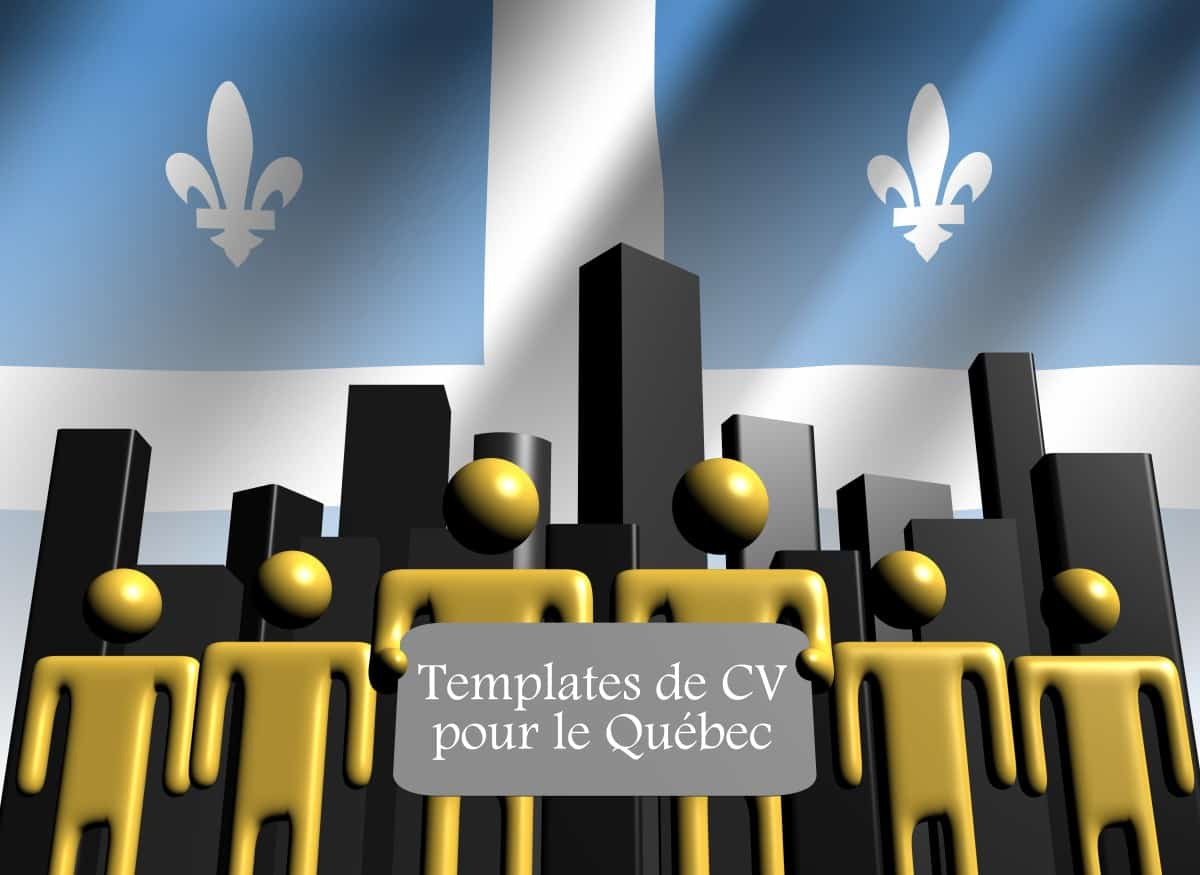 L œil Du Recruteur Des Templates De Cv Pour Le Quebec