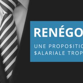 Renégocier une proposition salariale trop basse avec succès!