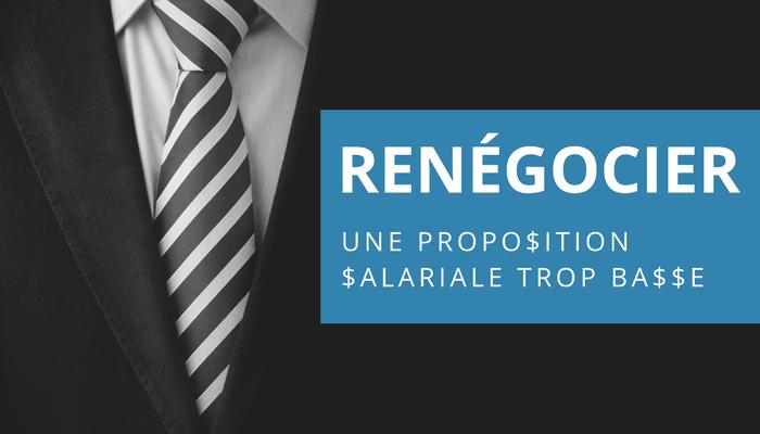 L œil Du Recruteur Renegocier Une Proposition Salariale Trop Basse