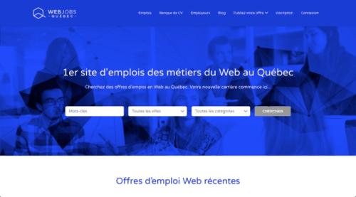Web Jobs Québec