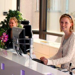 Passez-vous le test de la réceptionniste?