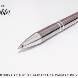 Bloguer avec d'autres blogueurs talentueux