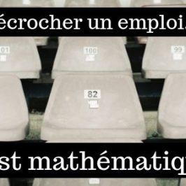Décrocher un nouvel emploi, c'est mathématique!