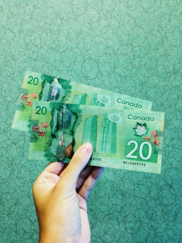 Argent canadien 20 dollars