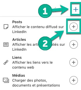 Comment afficher une publication sur son profil LinkedIn