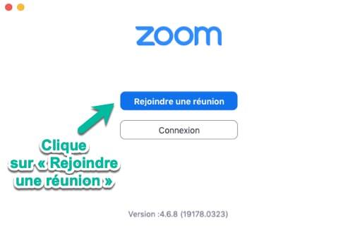 Rejoindre une réunion Zoom