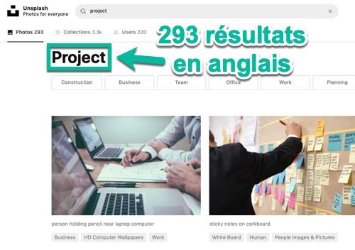 293 résultats sur Unsplash avec le mot-clé « project »