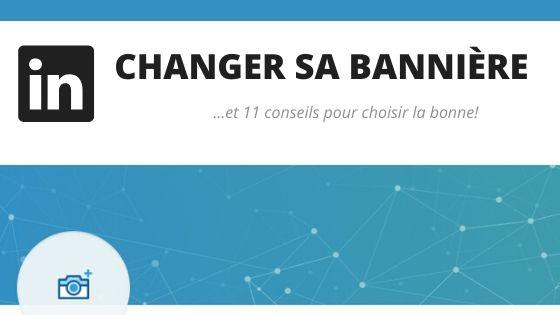 Changer sa bannière LinkedIn par L'Œil du Recruteur