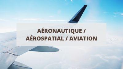 Objectifs pour un CV en aéronautique et aviation