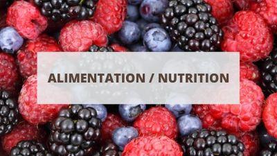 Objectifs pour un CV en alimentation et nutrition