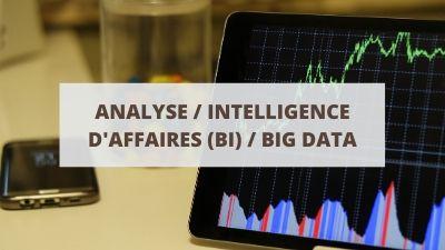 Objectifs pour un CV en analyse, intelligence d'affaires (BI) et big data