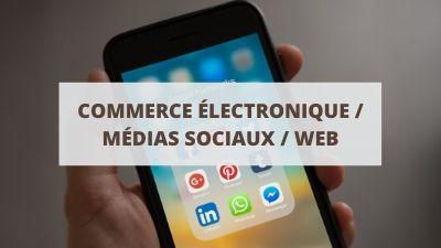Objectifs pour un CV en commerce électronique, médias sociaux et web