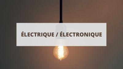Objectifs pour un CV en électricité et électronique