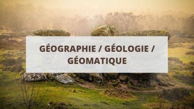 Objectifs pour un CV en géographie, géologie et géomatique
