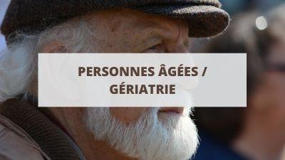 Objectifs pour un CV lié aux personnes âgées et à la gériatrie