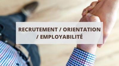 Objectifs pour un CV en recrutement, orientation et employabilité