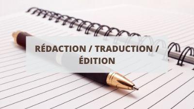 Objectifs pour un CV en rédaction, traduction et édition