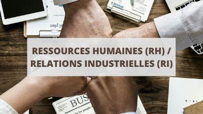 Objectifs pour un CV en ressources humaines (RH) et relations industrielles (RI)