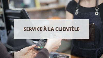 Objectifs pour un CV en service à la clientèle