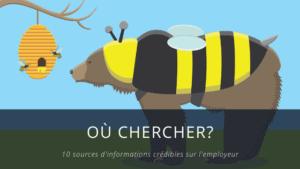 Informations sur l'employeur, où chercher?